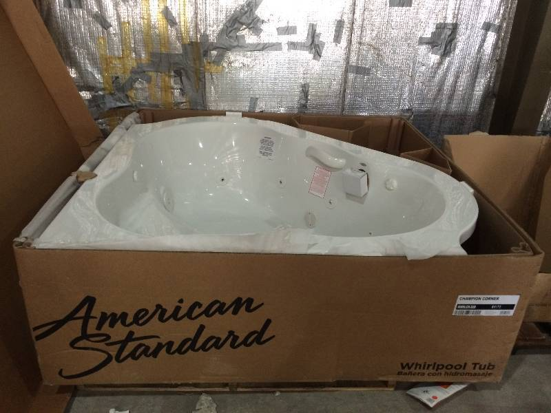 American Standard Champion Corner Whirlpool Tub in White | St. Cloud ...