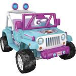 "Fisher Price Powerwheels Disney Frozen Jeep Wrangler ""Ride-on"""