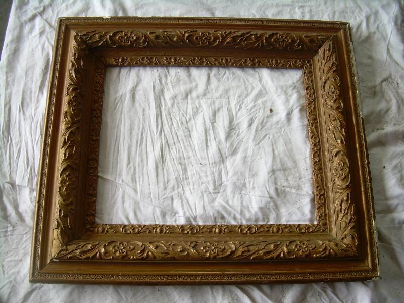 vintage picture frame 30x25 | Tools and More Tools Antiques and More ...