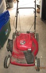 "Toro Recycler push mower with a 22""..."
