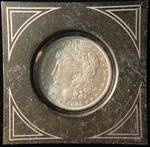 1885 O MORGAN SILVER DOLLAR UNC IN AIRTITE HOLDER