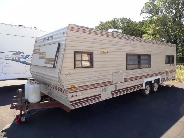1987 Shasta 290fk Travel Trailer No Reserve August Rv