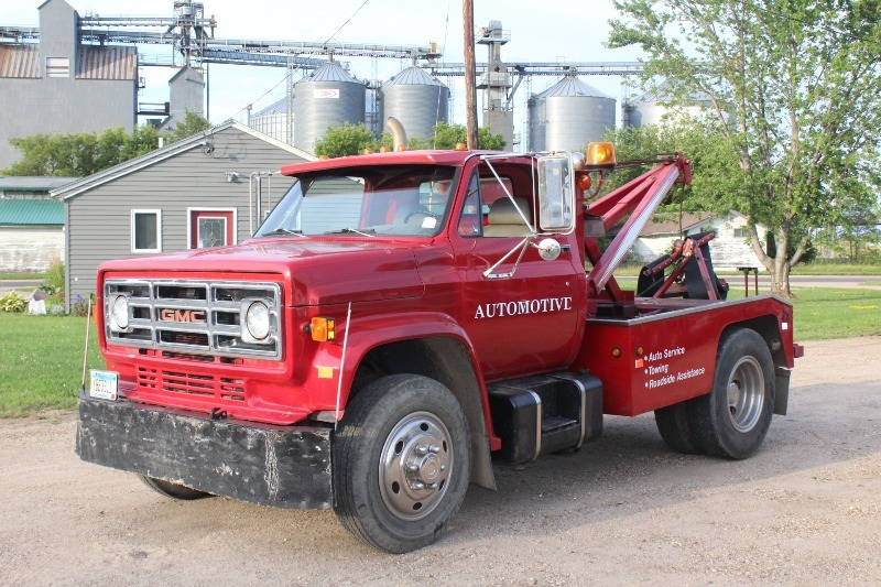 1982 Gmc Wrecker Tow Truck Minnewaska Motors Big Trucks