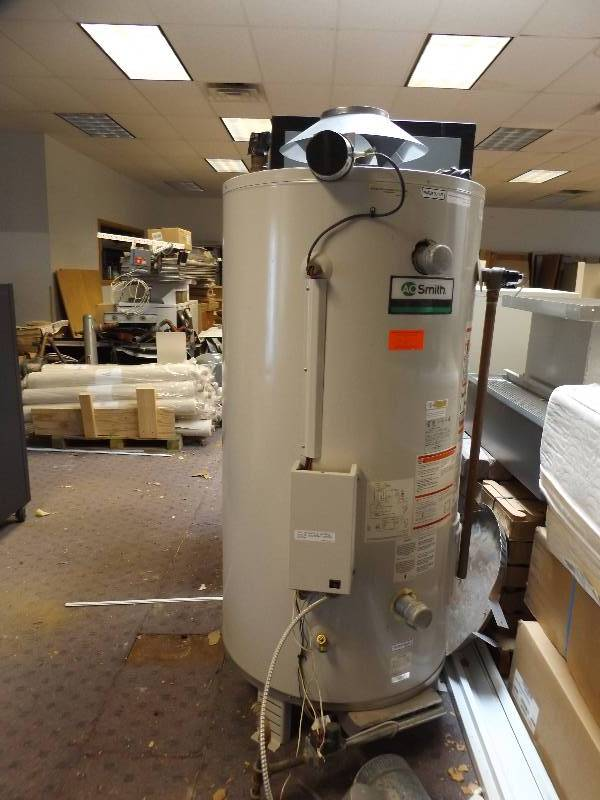 Hot water heater building surplus sale new and used k bid for Used hot water heater