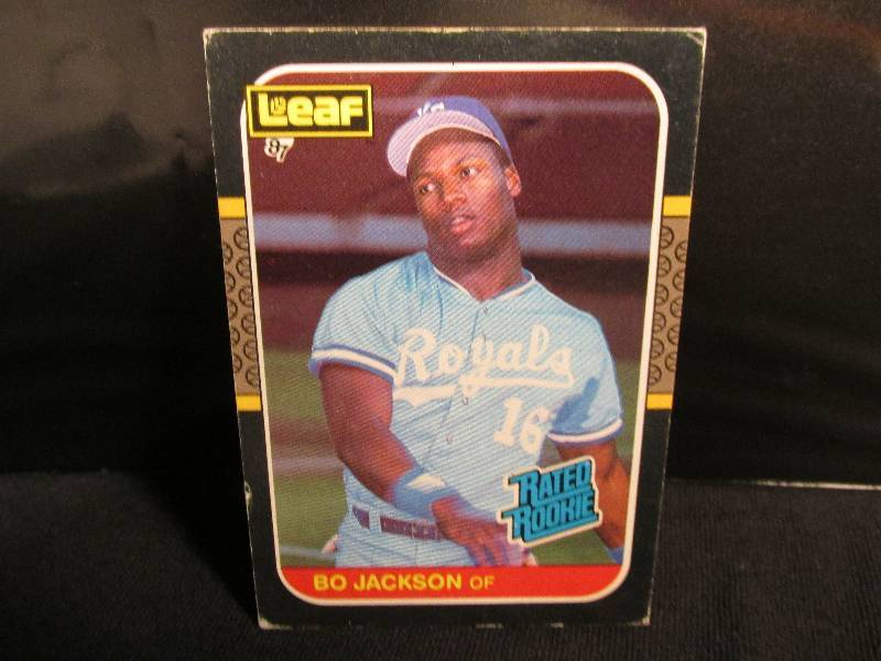 1987 Leaf Bo Jackson Rookie Sports Sports Card