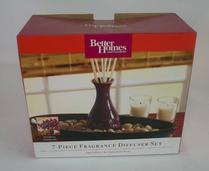 Better Home And Garden 7 Piece Wild Berry Cheese Cake Fragrance Diffuser Set Everyday: better homes and gardens diffuser