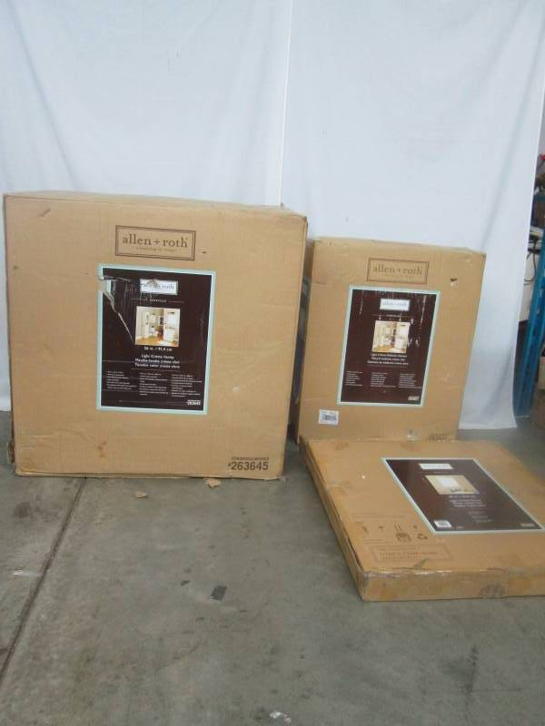 bathroom 3 pc set september vehicle and consignments 2 k bid. Black Bedroom Furniture Sets. Home Design Ideas