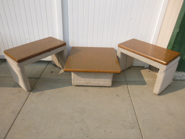 Matching Coffee Table And End Tables Northstar Kimball September Consignments 3 K Bid