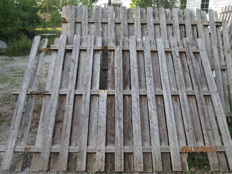 2 8 Foot Fence Panels Wood Fencing Panels And Pickets