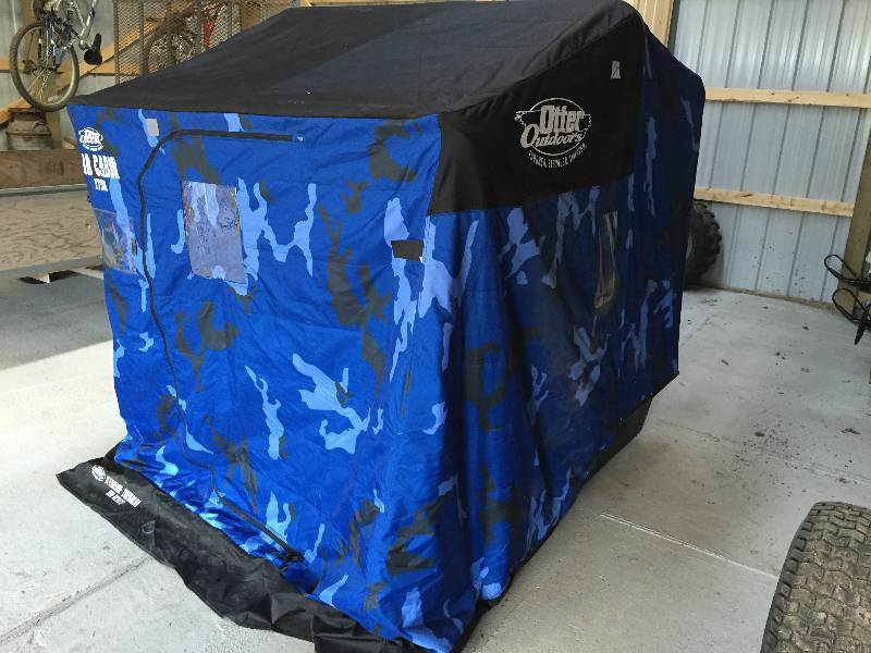 Otter Pro Cabin Xt900 Portable Fish House Sept