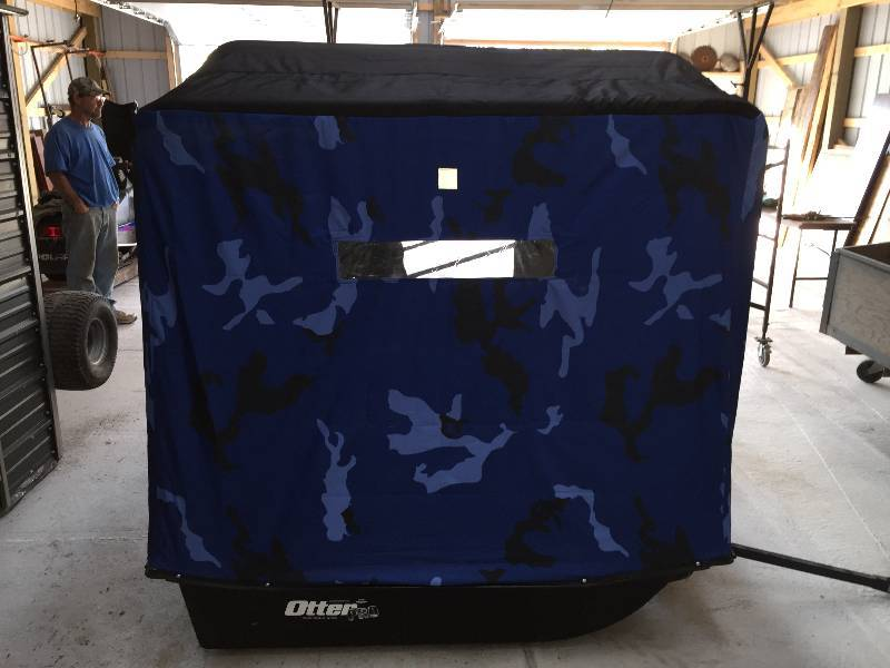 Otter pro cabin xt900 portable fish house sept for Otter fish houses
