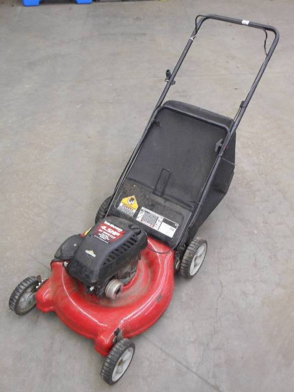 yard machine 5hp lawn mower