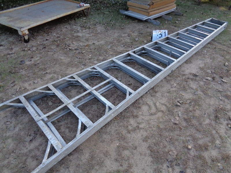 14 ft aluminum step ladder mower corn stove 4 wheeler tools lots more k bid. Black Bedroom Furniture Sets. Home Design Ideas