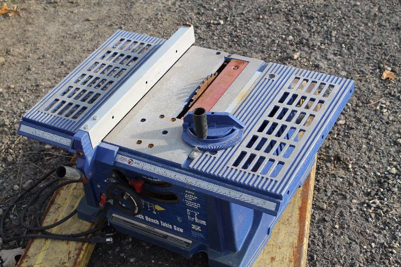Tools equipment consignment 11 15 in inver grove heights for 10 13 amp industrial bench table saw