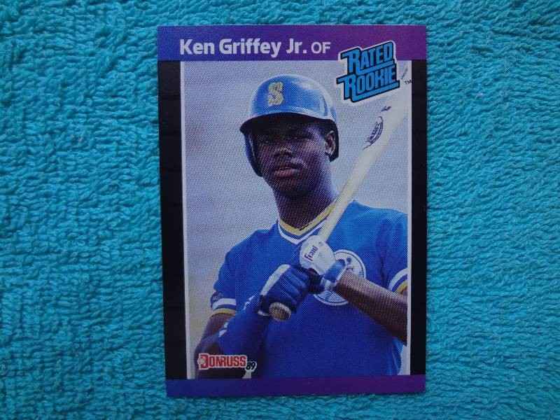 Ken Griffey Jr Rookie Card Collectible Coins And Sports