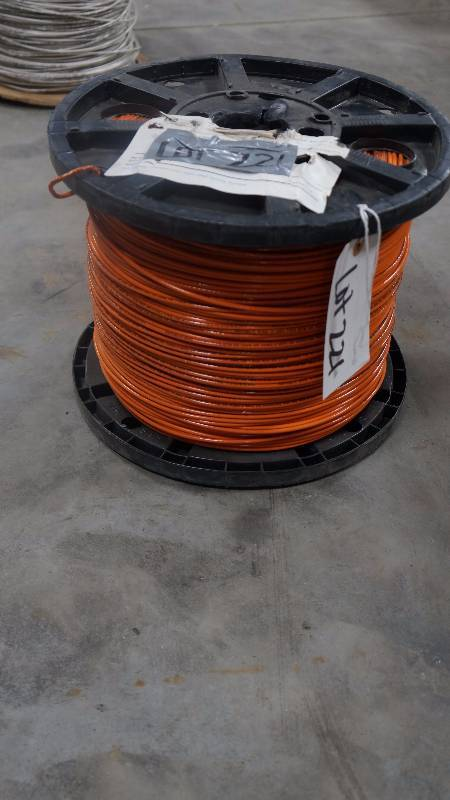 NEW Partial Spool of Republic Wire 12 AWG THHN Sun Resistant Wire ...