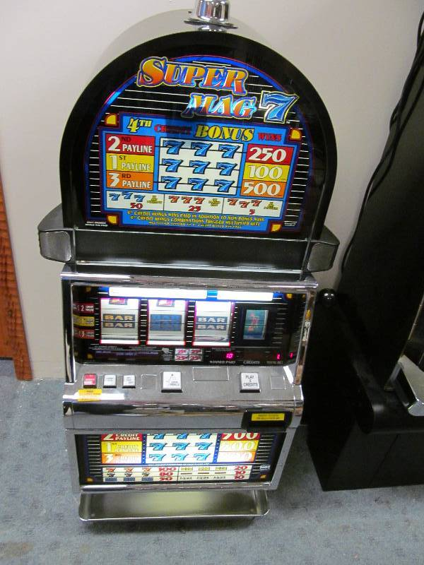 how to reset igt slot machine